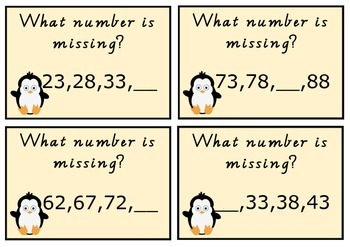 Penguin's missing numbers