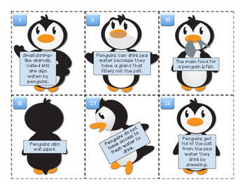 Penguins on Parade: Main Idea and Details