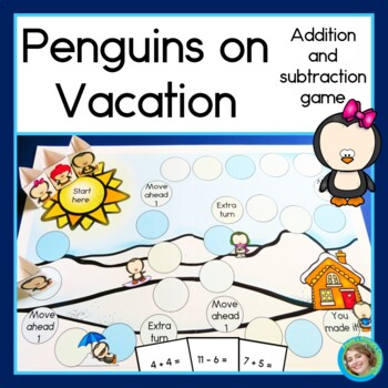 Penguins on Vacation + and - Game