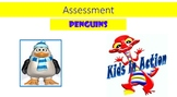Penguins stage 3 assessment for 5 to 6 years old