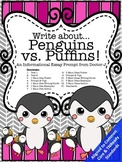 Penguins vs. Puffins Informational Essay Writing Common Core TN Ready Aligned