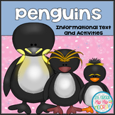 Penguins...Dive into Informational Text...Activities and a Craft!