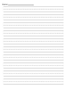 Penmanship Paper Freebie