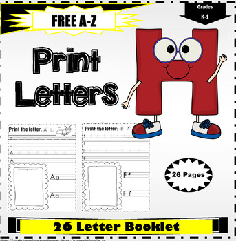 Penmanship: Print the Letters of the Alphabet