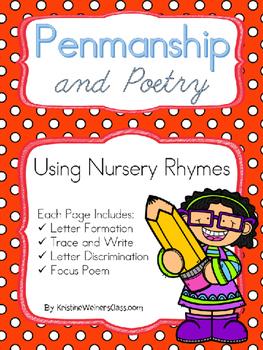 Penmanship and Poetry Using Nursery Rhymes