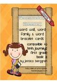 Penmanship sheets, word wall cards {Grade 1 Journeys book 2 compatible}