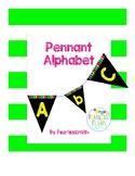 Pennant Alphabet - Yellow
