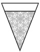 Pennants - Back to School Name Banner - **NEW** 36 Different Patterned Pennants
