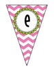 Pennant Banner {ALL Letters}
