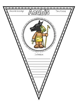 Pennant Banners- Ancient Egypt
