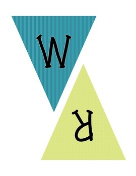 Pennant Banner for Writing Bulletin Board