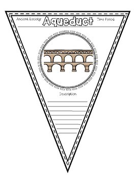 Pennant Banners- Ancient Rome