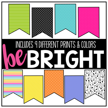 Pennant Banners - Bright Ideas