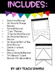 TEN Pennant Banners in English and Spanish