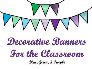 Pennant Banners {FREEBIE}