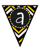 Pennant Banners {Upper/Lower Case and Symbols}
