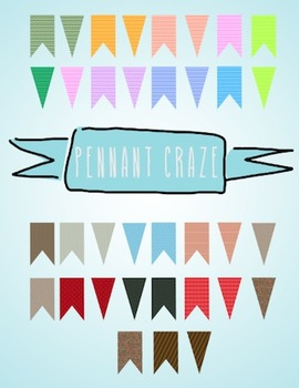 Pennant Craze! 51 full size printable high quality Pennants!