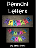 Pennant Letters