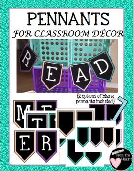 Pennants {Classroom Decor}