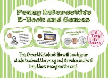 Pennies Interactive E-Book and Games for Smartboard