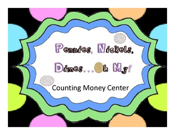Pennies Nickels Dimes..Oh My-  Money Center