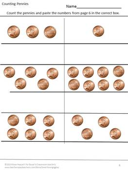 Coins,Money Activities,Counting Coins, Identifying Coins,Special Education Math