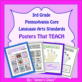 """Pennsylvania 3rd Grade Language Arts Standards Posters: """"I Can"""" Statements"""