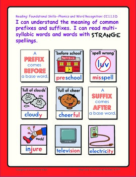"Pennsylvania 3rd Grade Language Arts Standards Posters: ""I Can"" Statements"