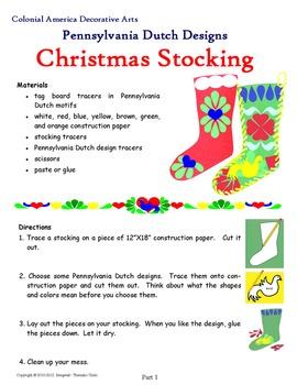 Pennsylvania Dutch Christmas Stockings
