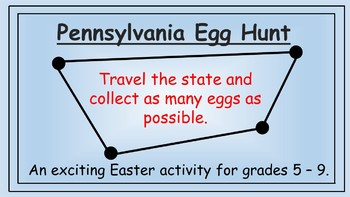 Pennsylvania Easter Math Activity