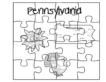 Pennsylvania Fact Puzzles