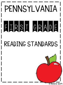 Pennsylvania First Grade Reading Standards
