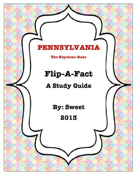 Pennsylvania Flip-A-Fact : A Study Guide with Focus Assessment