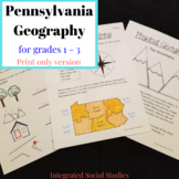 Pennsylvania Geography Workbook