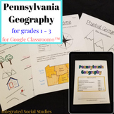 Pennsylvania Geography Workbook for Google Classroom™