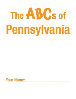 Pennsylvania Handwriting Printables - Cursive Edition