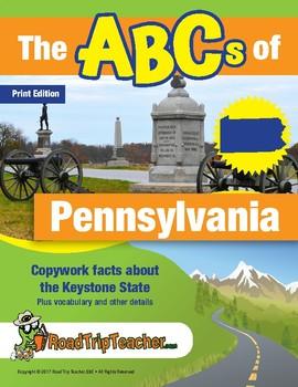 Pennsylvania Handwriting Printables - Print Edition