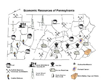 Pennsylvania History: 2 Environment, Resources, and Impact