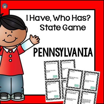 Pennsylvania I Have, Who Has Game