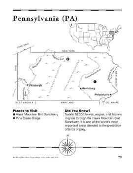 Pennsylvania (Map & Facts)