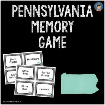Pennsylvania Memory Game