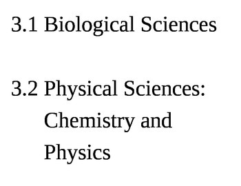 Pennsylvania (PA) Science Standards