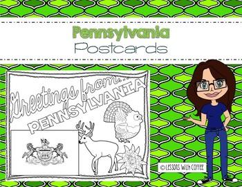 Pennsylvania Postcard - Classroom Postcard Exchange