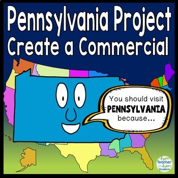 Pennsylvania Project: Create a Commercial! {Pennsylvania Research Project}