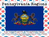 Pennsylvania Regions cut and paste