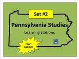 Pennsylvania Social Studies Learning Stations #2