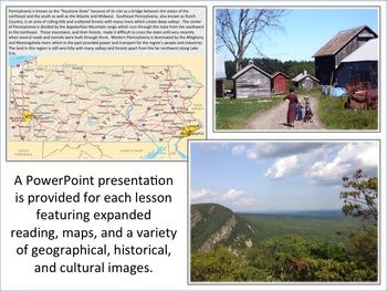 Pennsylvania - State Activity Set