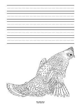 Pennsylvania State Bird Notebooking Set (Ruffed Grouse)
