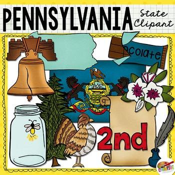 Pennsylvania State Clip Art