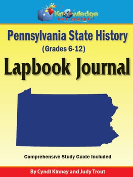 Pennsylvania State History Lapbook Journal